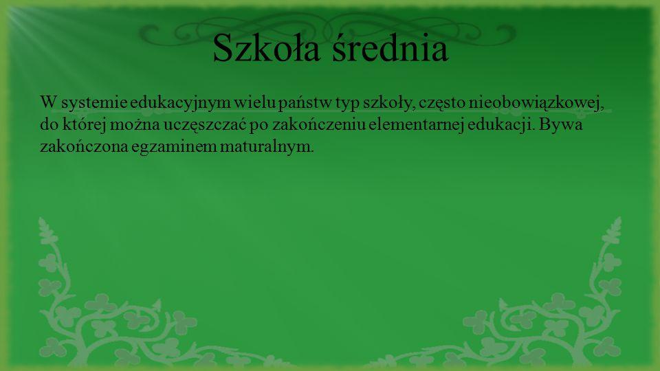 Ocenianie uczniów Uczniowie w Polsce są oceniani w skali ocen 1-6.