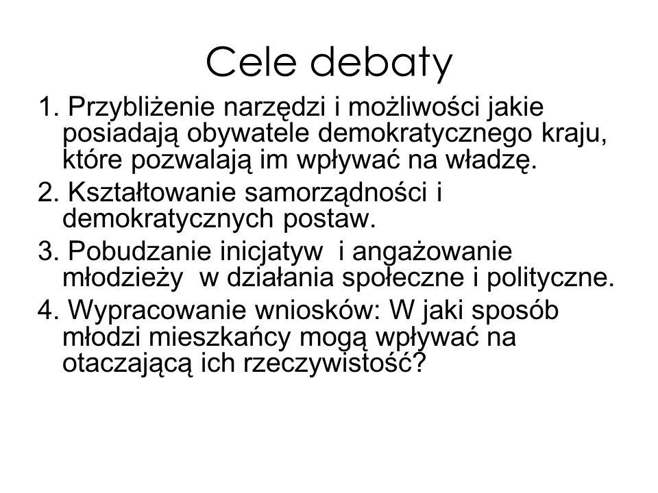 Cele debaty 1.