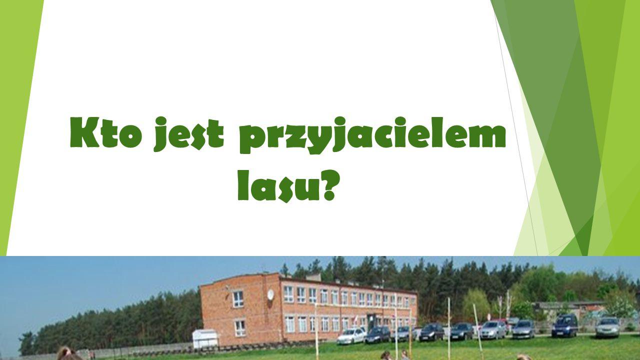Uczniowie Szkoły Podstawowej w Sokolnikach są PRZYJACIÓŁMI LASU! bo…
