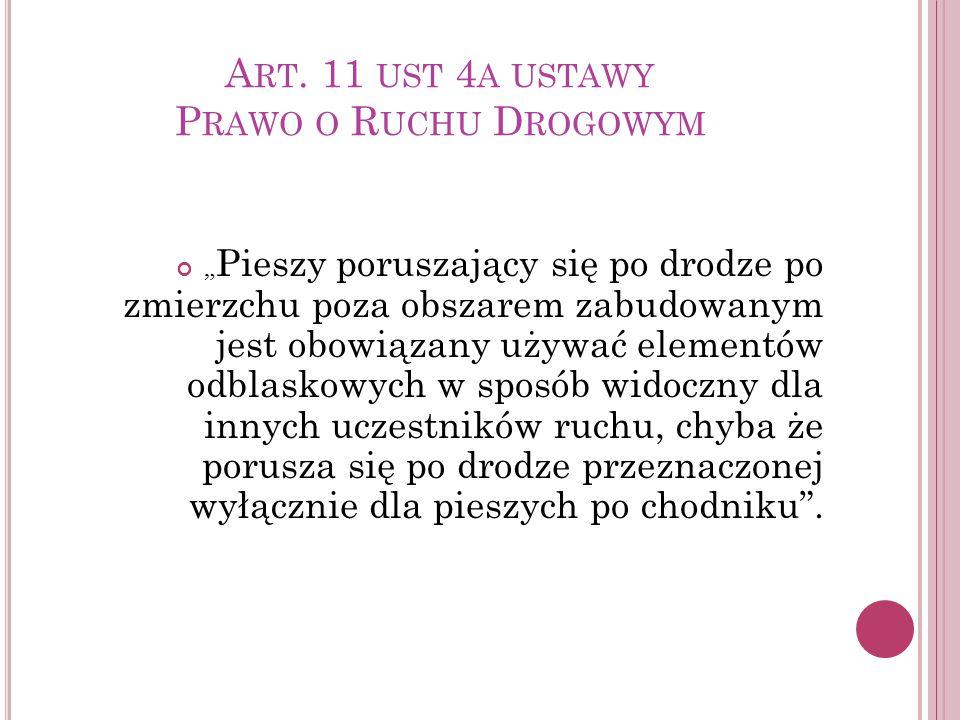 E LEMENTY ODBLASKOWE