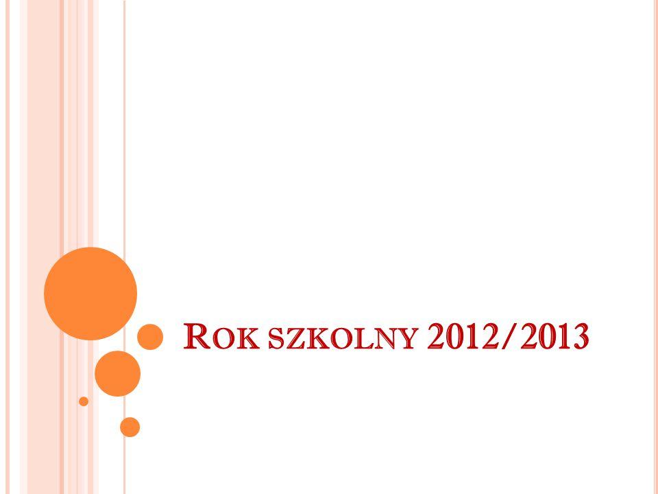 Ma ł gorzata Zawadzka Uczennica technikum, w roku szkolnym 2012/13 za wyniki w nauce otrzymała stypendium Prezesa Rady Ministrów.