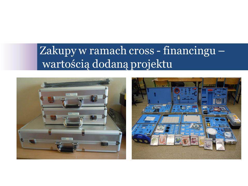 Zakupy w ramach cross - financingu – wartością dodaną projektu