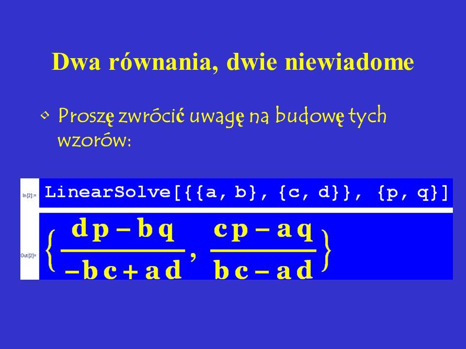 Metoda eliminacji (Gaussa) = doprowadzenie do postaci schodkowej =.... trójkątnej x ─ 3 y + z = ─ 10 3 x + 2 y ─ 4 z = ─ 4 2 x +5 y ─ z = 10 Od drugie