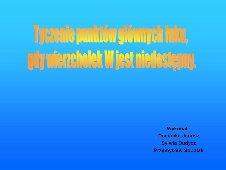 Wykonali: Dominika Janusz Sylwia Dudycz Przemysław Sobolak