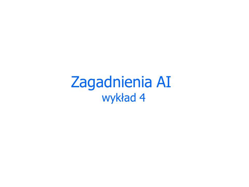 Zagadnienia AI wykład 4