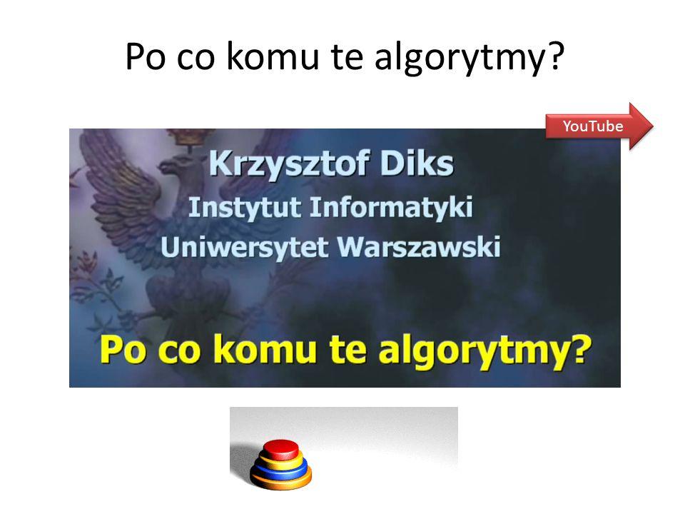 Po co komu te algorytmy? YouTube