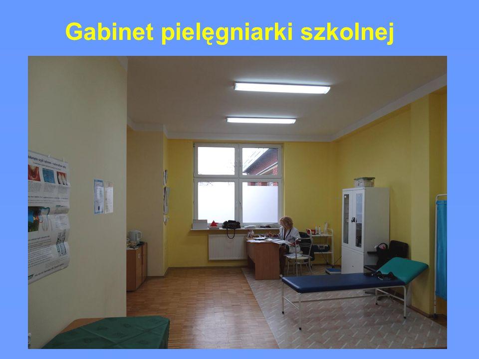 Gabinet pielęgniarki szkolnej