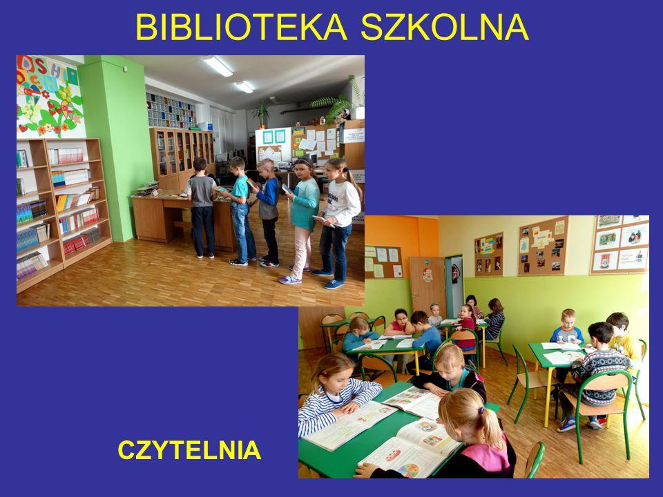 BIBLIOTEKA SZKOLNA CZYTELNIA