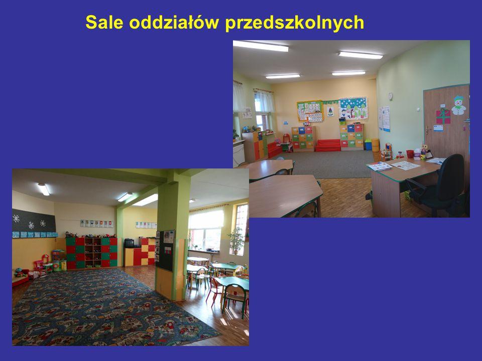 Sale oddziałów przedszkolnych