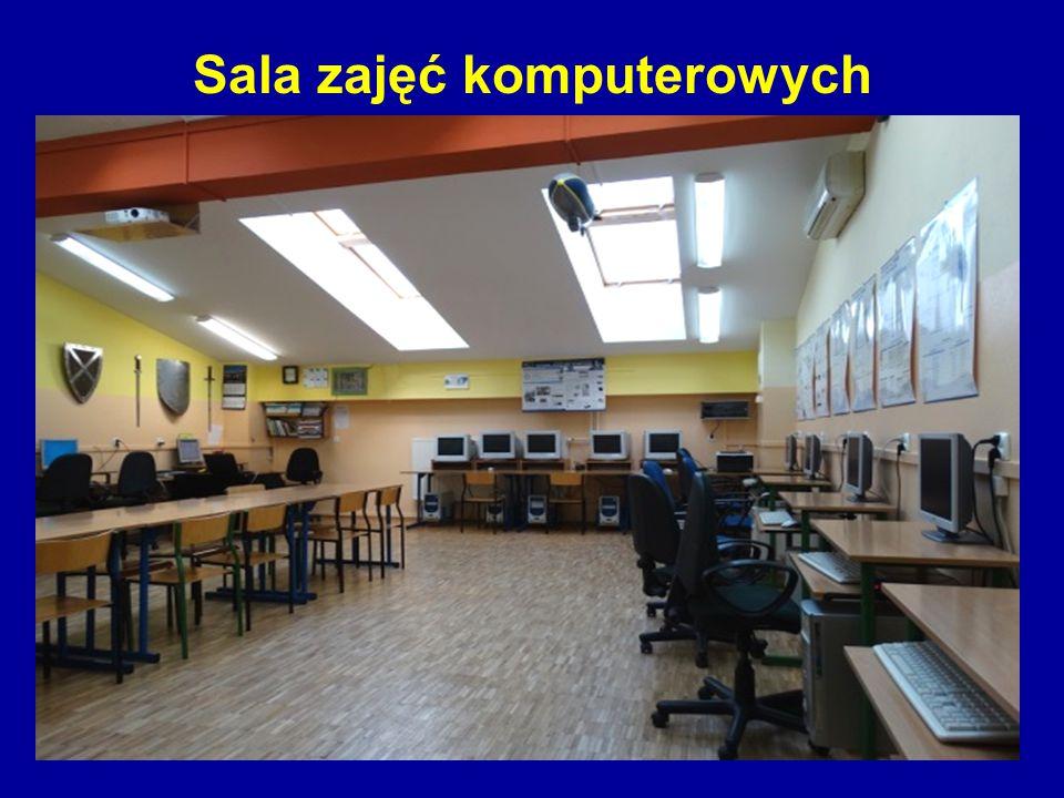 Sala zajęć komputerowych