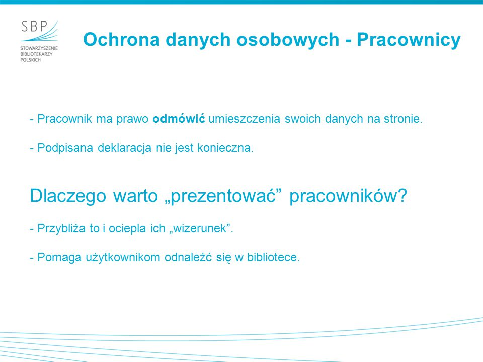 Ochrona danych osobowych - Użytkownicy - Publikacja uczestników / laureatów konkursów (wymagana zgoda - regulamin).