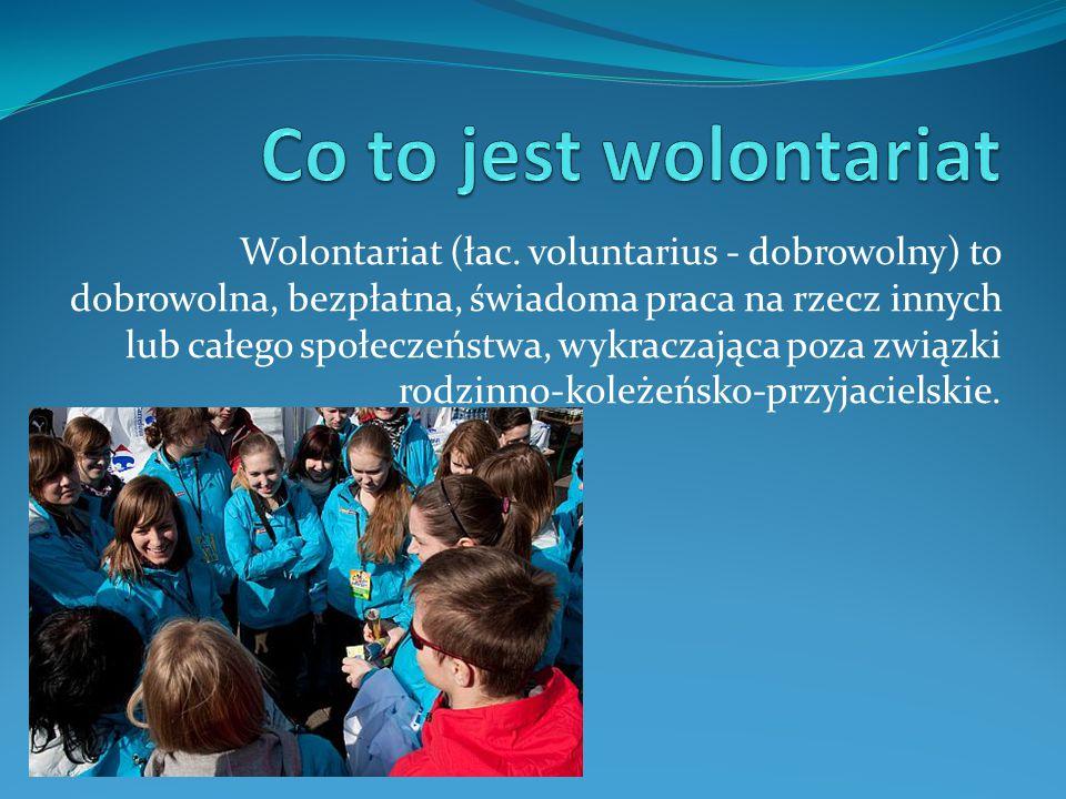 Wolontariat (łac.
