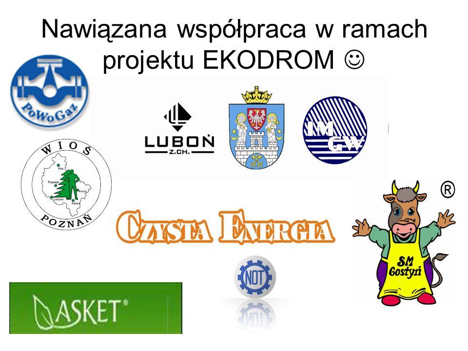 Nawiązana współpraca w ramach projektu EKODROM