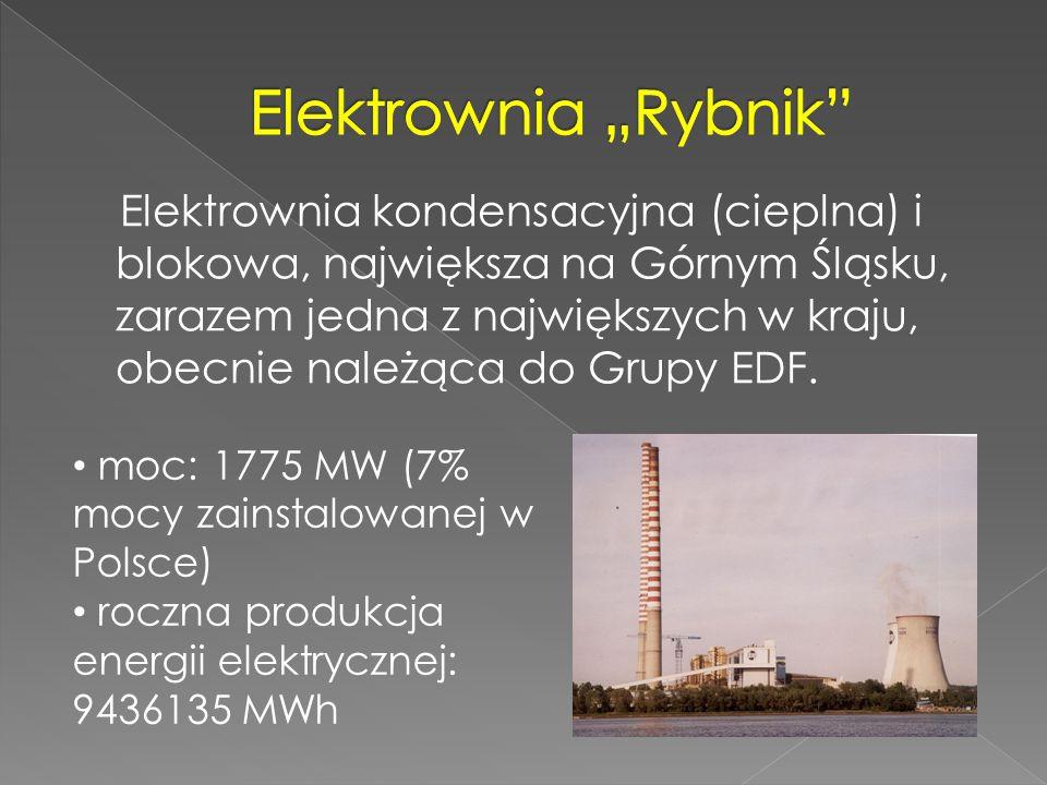Elektrownia kondensacyjna (cieplna) i blokowa, największa na Górnym Śląsku, zarazem jedna z największych w kraju, obecnie należąca do Grupy EDF. moc: