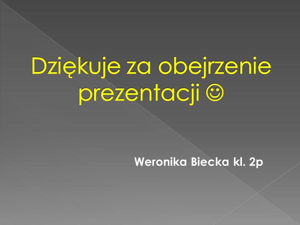 Weronika Biecka kl. 2p