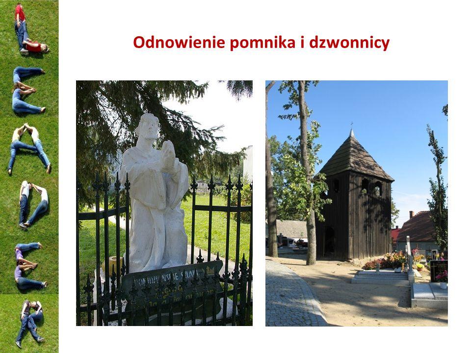 Odnowienie pomnika i dzwonnicy