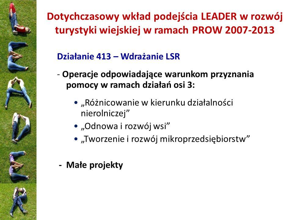 Kilka liczb i przykładów Do końca 2013 r.