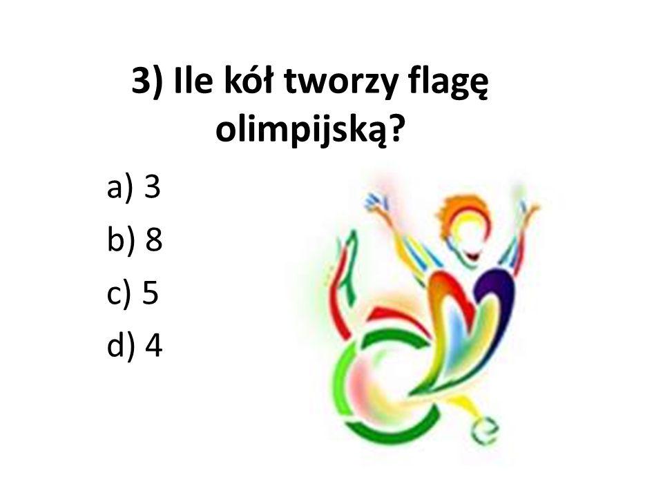 4) Ilu zawodników na boisku liczy drużyna siatkarzy? a) 6 b) 12 c) 8 d) 5
