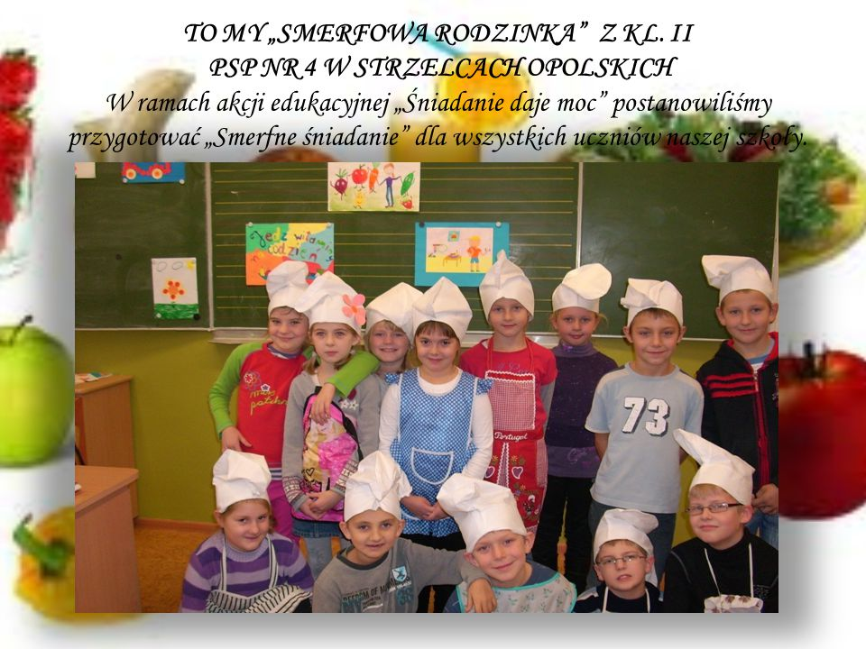 """TO MY """"SMERFOWA RODZINKA Z KL."""