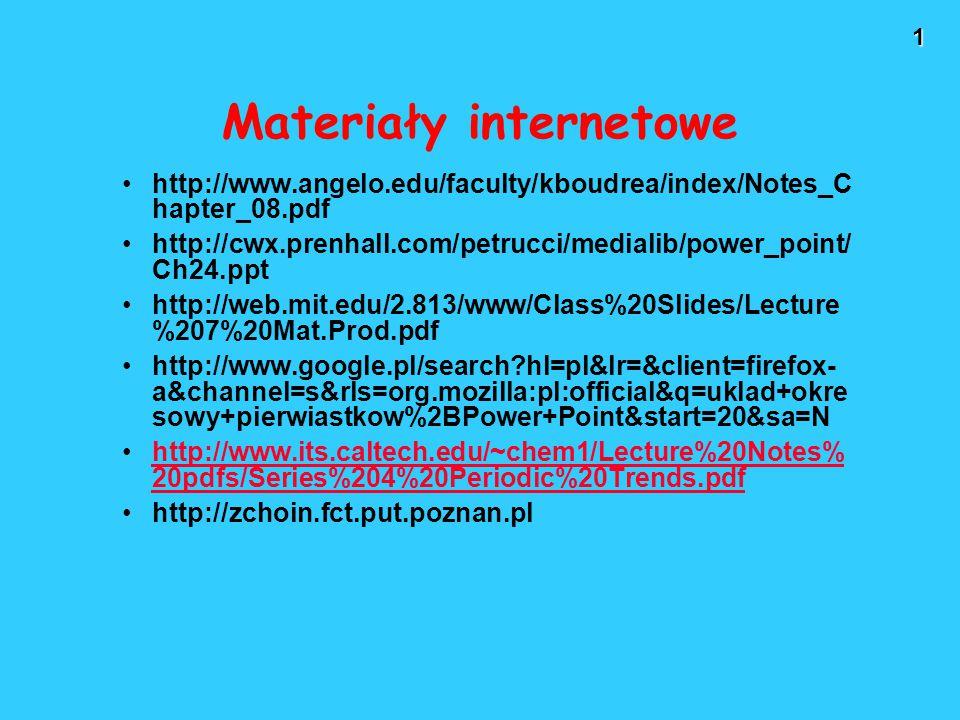 2 Struktura elektronowa borowców Borowce rozpoczynają tzw.
