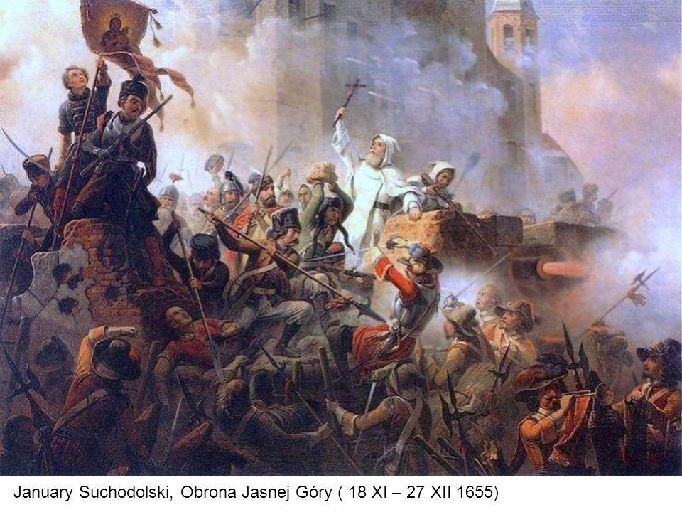 January Suchodolski, Obrona Jasnej Góry ( 18 XI – 27 XII 1655)