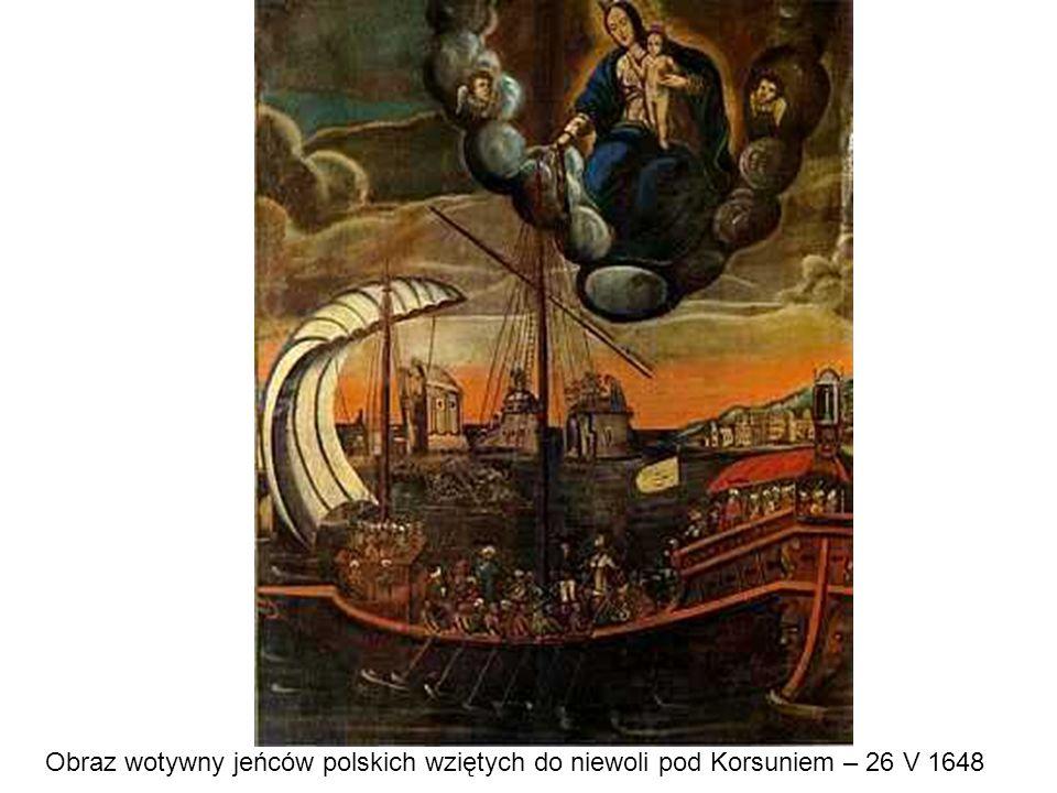 Obraz wotywny jeńców polskich wziętych do niewoli pod Korsuniem – 26 V 1648