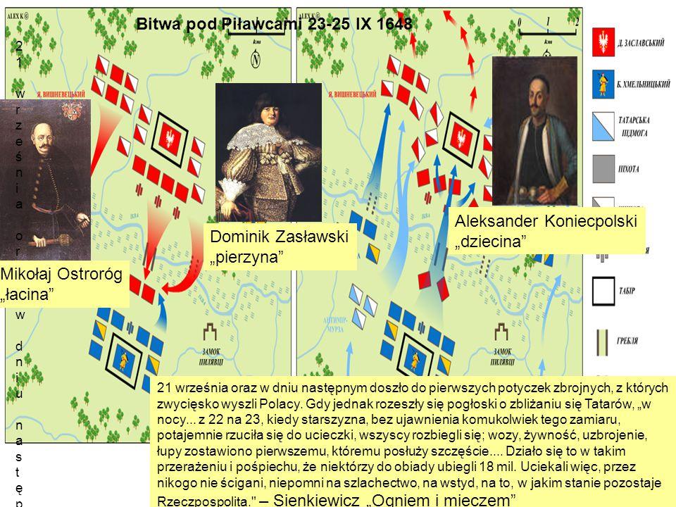 Bitwa pod Żwańcem od końca sierpnia do połowy grudnia 1653 ugoda żwaniecka 1653 powrót do ustaleń ugody zborowskiej