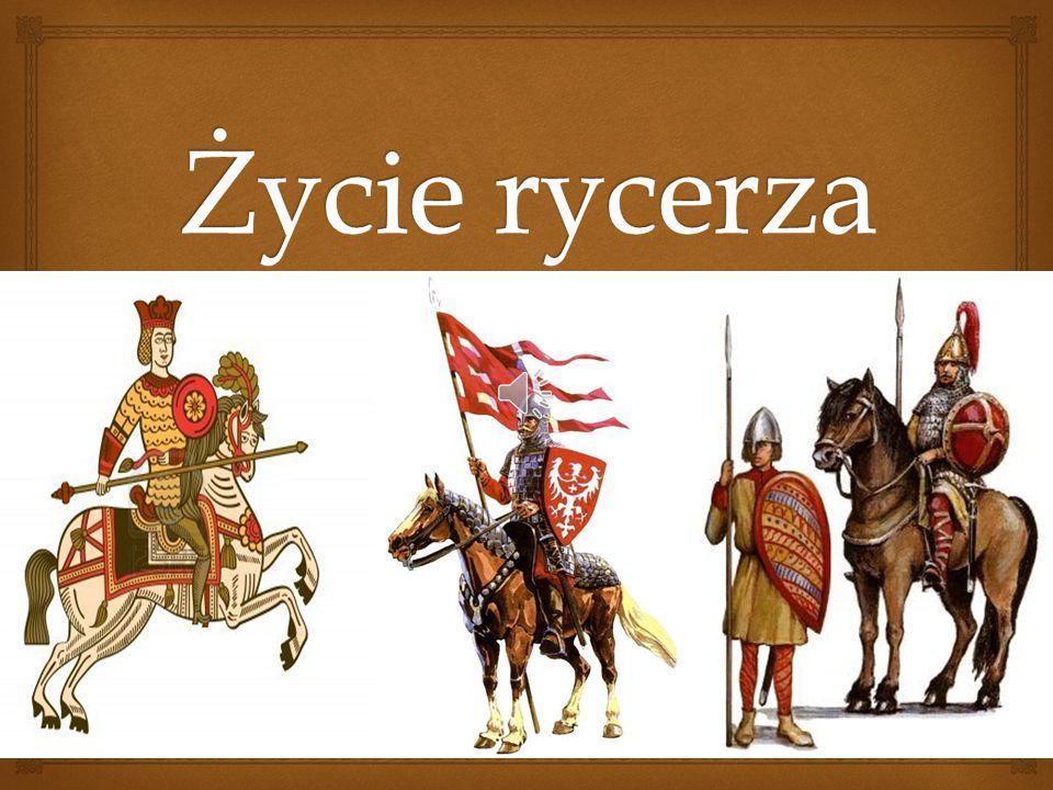  Rycerze w średniowieczu Przez kilka stuleci rycerze byli najsilniejszą formacją wojskową i jednocześnie stanowili bardzo wpływową grupę społeczną w Europie.