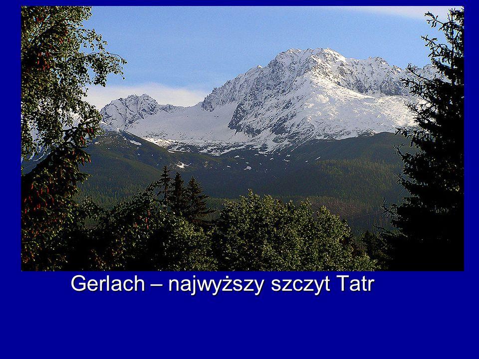 Gerlach – najwyższy szczyt Tatr Gerlach – najwyższy szczyt Tatr