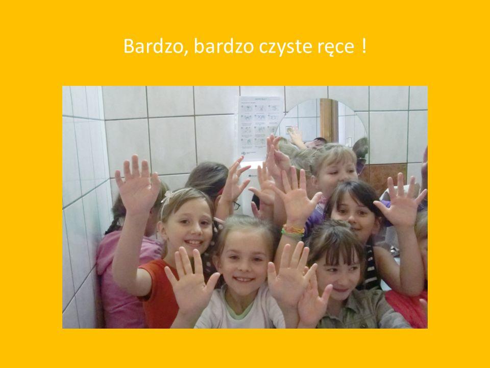 Myjemy ręce ściśle według instrukcji !