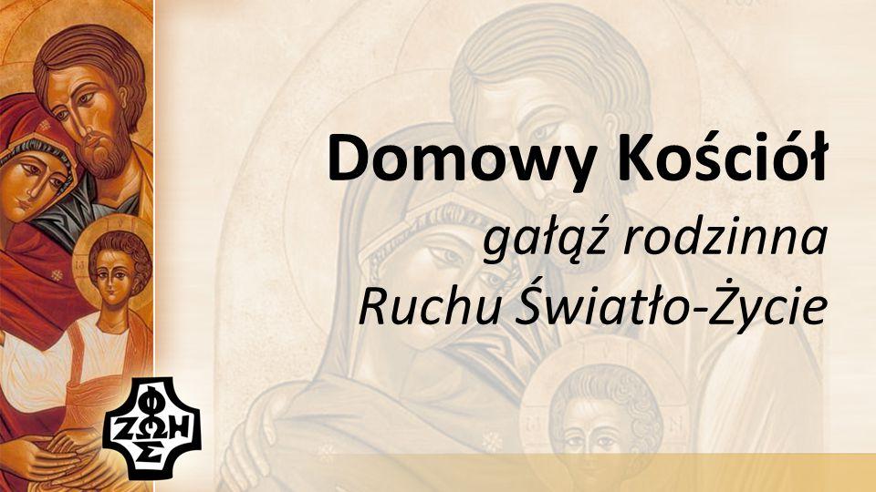 Istota Domowy Kościół jest małżeńsko-rodzinnym ruchem świeckich w Kościele, działającym w ramach Ruchu Światło-Życie, który jest jednym z nurtów posoborowej odnowy Kościoła w Polsce.