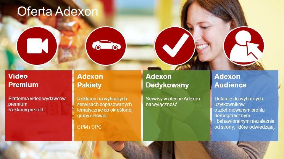 © 2012-2015, Adexon nowoczesna sieć reklamowa Oferta Adexon Video Premium Platforma video wydawców premium.