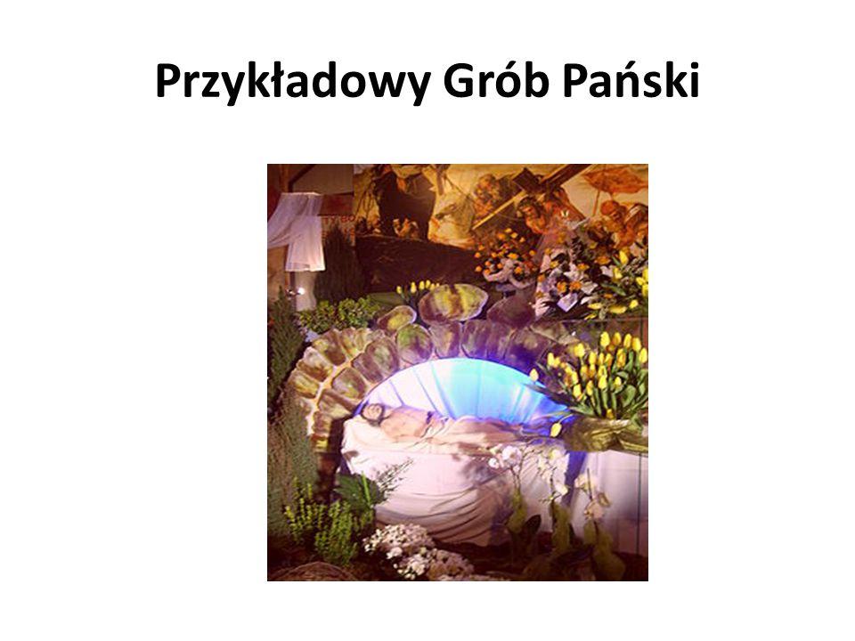 Wielka Sobota Jest to czas wielkiej ciszy, skupienia i czuwania przy Grobie Pańskim. W Polsce i niektórych sąsiednich krajach tradycyjnie wierni przyn