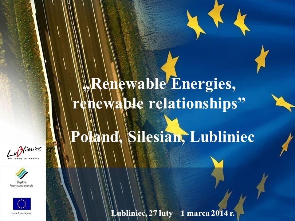 "Lubliniec, 27 luty – 1 marca 2014 r. ""Renewable Energies, renewable relationships"" Poland, Silesian, Lubliniec"