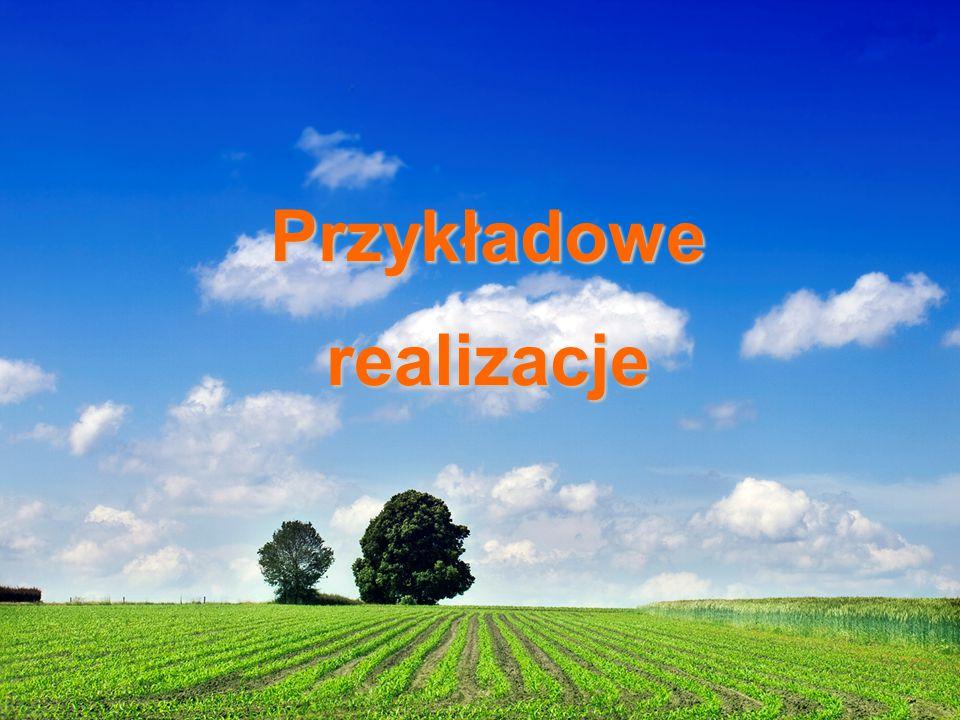"""""""Renewable Energies, renewable relationships"""" Lubliniec, 27 luty – 1 marca 2014 r. Przykładowerealizacje"""