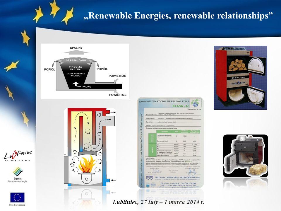 """Renewable Energies, renewable relationships"" Lubliniec, 27 luty – 1 marca 2014 r."