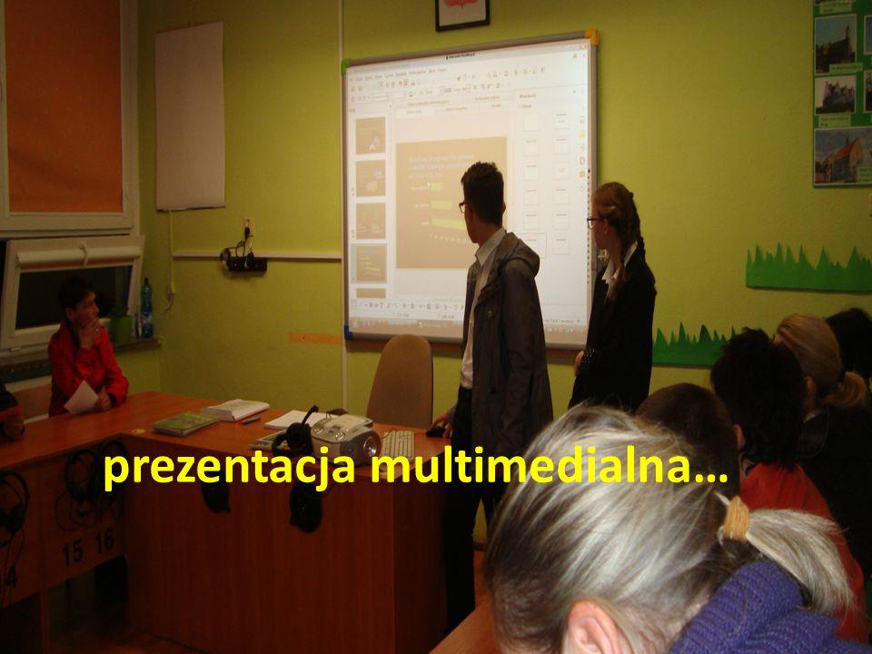 prezentacja multimedialna…