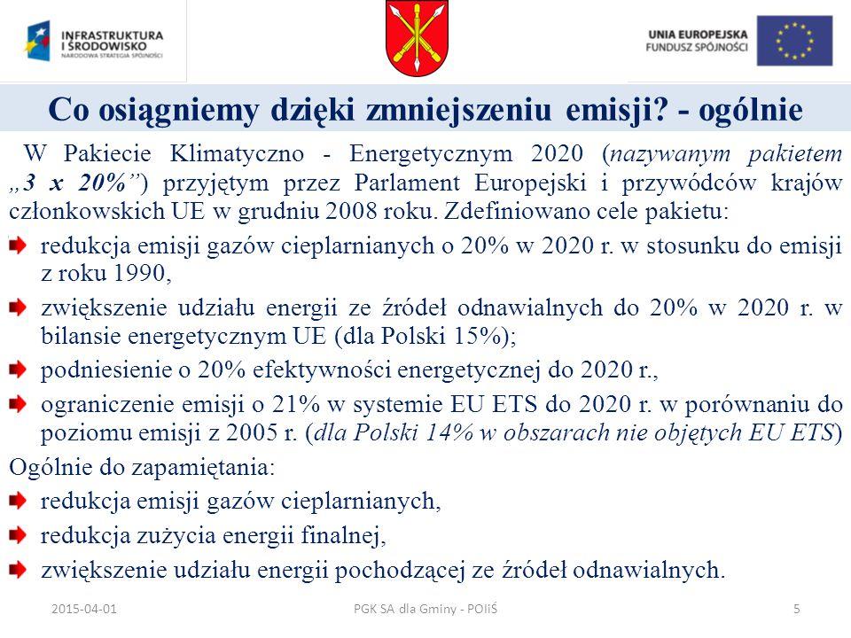 Schemat działania instalacji solarnej PGK SA dla Gminy - POIiŚ2015-04-0136