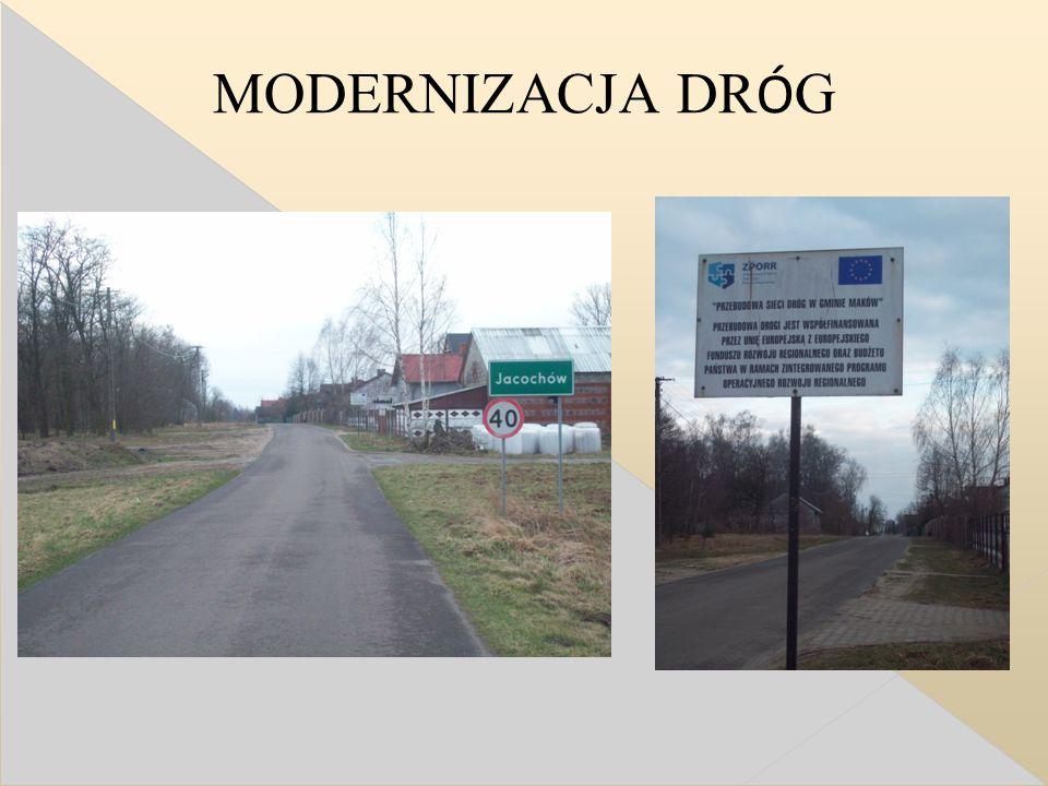 MODERNIZACJA DR Ó G
