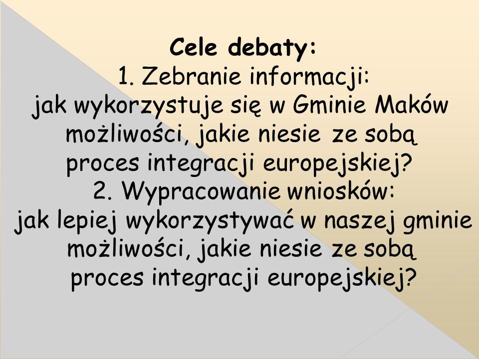 Cele debaty: 1.