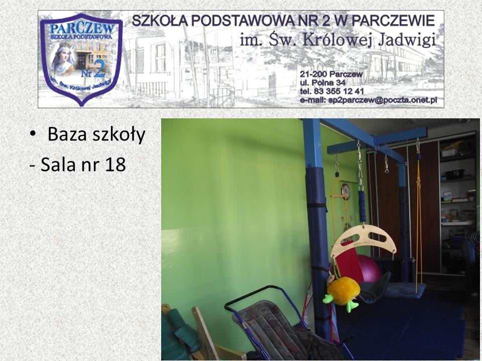Baza szkoły - Sala nr 18