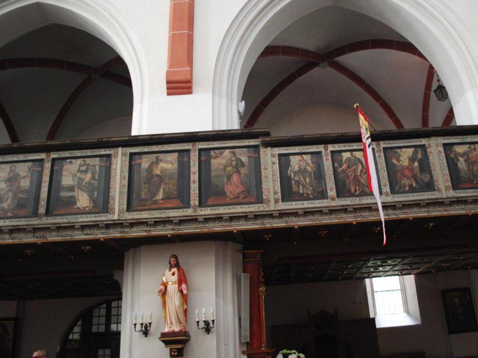 Wirtembergowie po wojnie trzydziestoletniej odnowili kościół. Pamiątką po nich pozostał: piękny prospekt organowy wraz z chórem muzycznym (1686 r.)