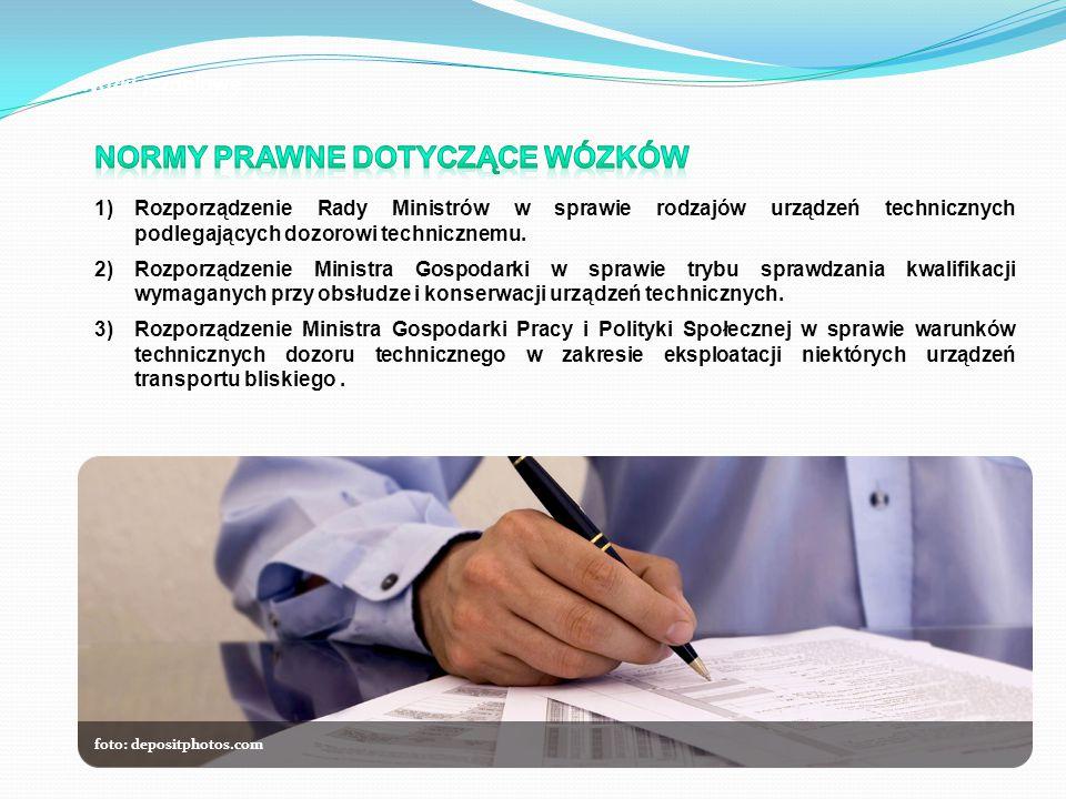 foto: depositphotos.com Wózki jezdniowe