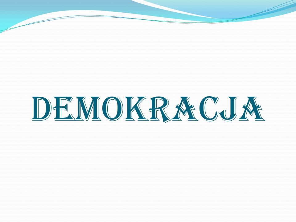 Demokracja