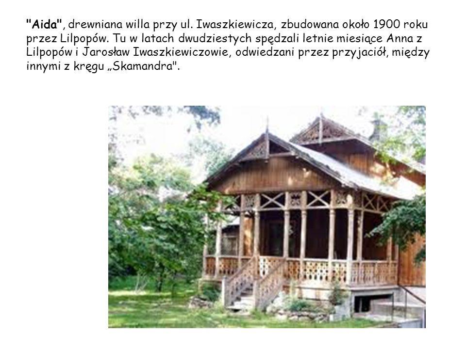 Turczynek to zespół willowy położony na skraju Milanówka.
