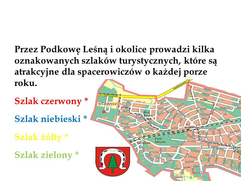 Szlak Czrwony Szlak czerwony: Jest fragmentem Podwarszawskiego Szlaku Okrężnego.