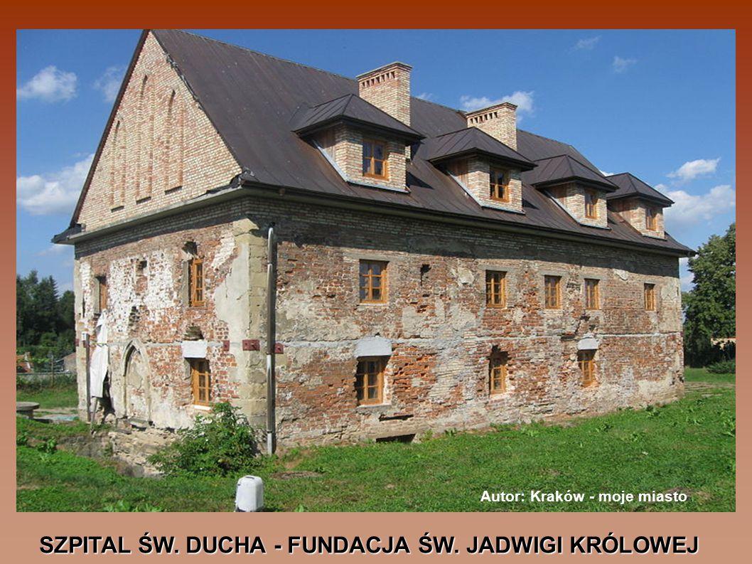 SZPITAL ŚW. DUCHA - FUNDACJA ŚW. JADWIGI KRÓLOWEJ Autor: Kraków - moje miasto