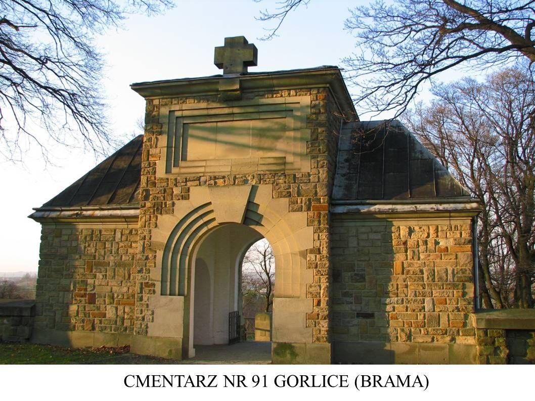 CMENTARZ NR 91 GORLICE (BRAMA)