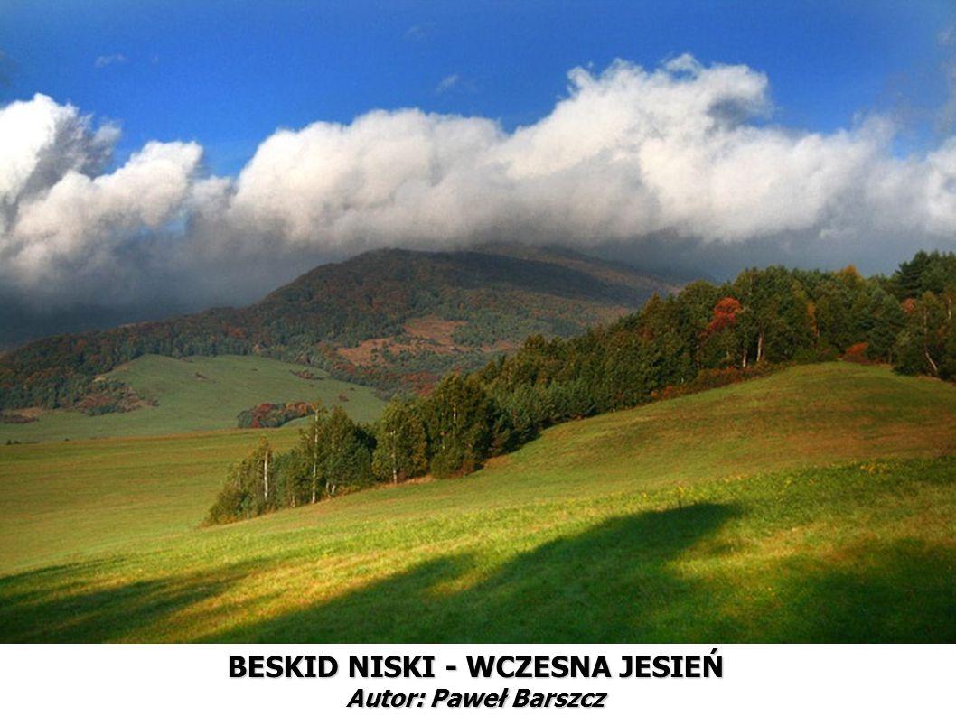 BESKID NISKI - WCZESNA JESIEŃ Autor: Paweł Barszcz