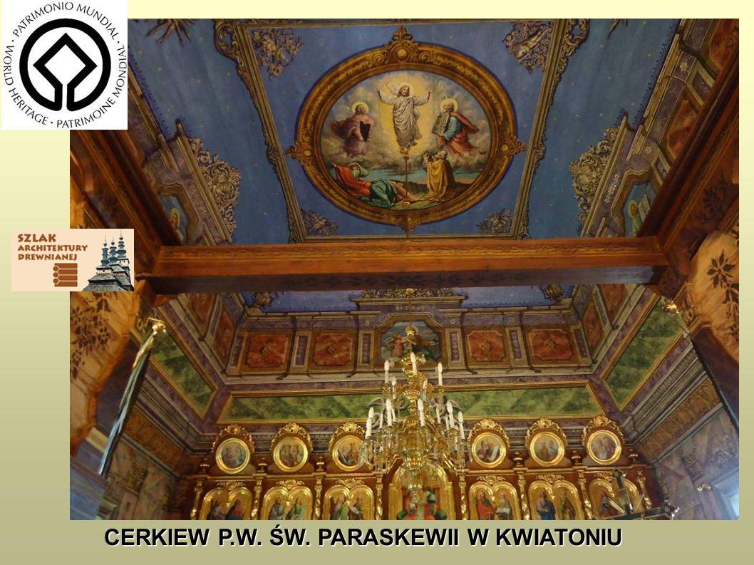 CERKIEW P.W. ŚW. MICHAŁA ARCHANIOŁA W BRUNARACH www.nid.pl